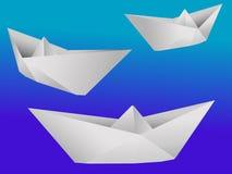 De schepen van het stuk speelgoed royalty-vrije illustratie