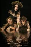 De Schepselen van het moeras Stock Afbeelding