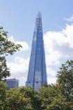 De Scherf die door bomen, Londen wordt omringd Royalty-vrije Stock Afbeelding