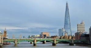 De scherf, Londen royalty-vrije stock foto's