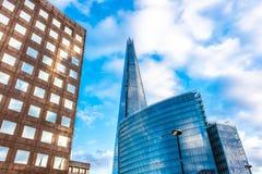 De Scherf Londen Stock Afbeeldingen