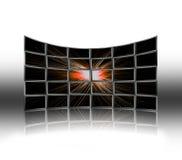 De schermen Royalty-vrije Stock Afbeeldingen