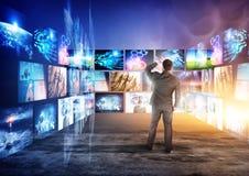 De schermen van Informatie Stock Fotografie