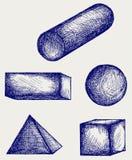 De schets van de meetkunde stock illustratie