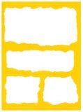 De scheuren van het document vector illustratie