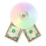 De schijf van CD dvd Royalty-vrije Stock Afbeeldingen