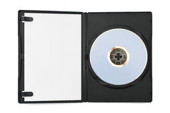 De schijf van de computer voor het geval dat en leeg document Royalty-vrije Stock Afbeelding