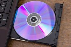 De schijf van Dvd Stock Afbeeldingen