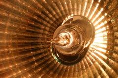 De schijnwerper van het halogeen (macro) Stock Foto