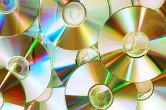 De schijven van CD Stock Afbeeldingen