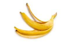 De schil van de banaan stock foto