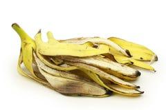 De schil van de banaan stock afbeeldingen
