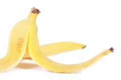 De schil van de banaan stock afbeelding