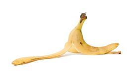 De schil van de banaan Royalty-vrije Stock Afbeeldingen