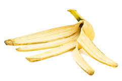 De schil van de banaan royalty-vrije stock foto