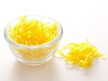 De schil van de citroen Royalty-vrije Stock Foto