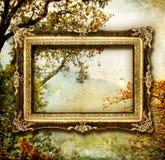 De schilder herfst Royalty-vrije Stock Afbeeldingen