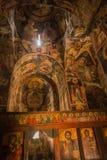 De schilderachtige kleine kerk, Prespa, Griekenland Stock Foto's