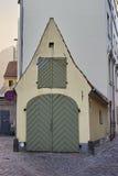 De schilderachtige straatmening van oud Riga Royalty-vrije Stock Afbeelding