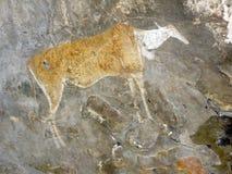 De Schilderijen van Bosjesmannen Royalty-vrije Stock Fotografie
