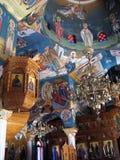 De schilderijen van de tempel Stock Foto's
