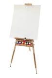 De Schildersezel van de Kunst van de school Stock Fotografie