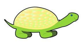 De schildpad van de strippagina Stock Fotografie