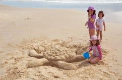 De Schildpad van het zand Stock Afbeelding