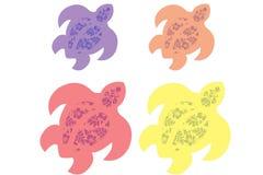 De Schildpad van Lei Stock Afbeeldingen