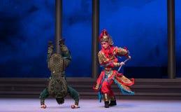 """De schildpad zal - de zesde overstromingen gouden heuvel-Kunqu Opera""""Madame Witte Snake† van het handelingswater vangen Stock Fotografie"""