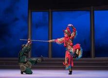"""De schildpad zal - de zesde overstromingen gouden heuvel-Kunqu Opera""""Madame Witte Snake† van het handelingswater vangen Stock Afbeeldingen"""