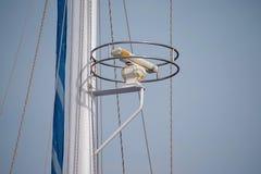 De schip` s radar op een mast Royalty-vrije Stock Foto