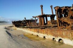 De schipbreuk van Maheno Royalty-vrije Stock Afbeelding
