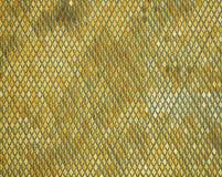 De schitterende achtergrond van gouden ruit regelt textuur Royalty-vrije Stock Foto