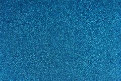 De schitterende document achtergrond van de bladtextuur Fonkelend blauw patroon Royalty-vrije Stock Foto's