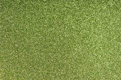 De schitterende document achtergrond van de bladtextuur Fonkelend groen patroon Royalty-vrije Stock Fotografie