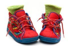 De schoen van de baby Stock Foto's