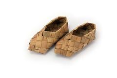 De schoen van de bast Stock Afbeelding