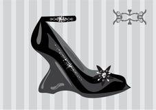 De schoen van de manier Stock Illustratie