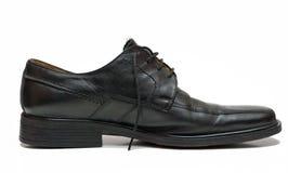 De schoen van de mens stock foto's