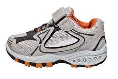 De schoen van de sport op wit Stock Afbeelding