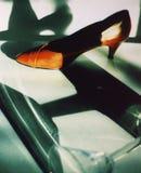 De schoen van de vrouw Stock Foto's