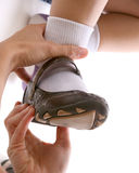 De schoen van het volwassen montagekind Royalty-vrije Stock Afbeelding