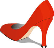 De schoen van vrouwen Stock Foto