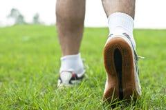 De schoenclose-up van de sport Stock Afbeelding