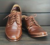 De schoenen Royalty-vrije Stock Foto's
