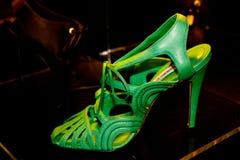 De schoenen van Blahnik van Manolo   Stock Foto's