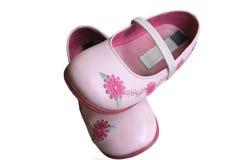 De schoenen van Childs Stock Afbeelding