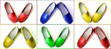 De schoenen van Colofrul Stock Fotografie