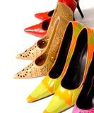 De Schoenen van dames Stock Foto's